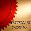 Certificats-cadeaux (téléchargeables)